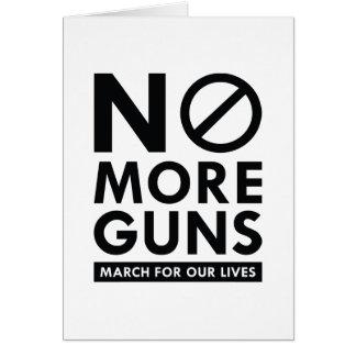 No More Guns Card