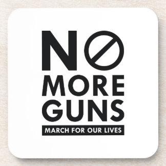 No More Guns Coaster