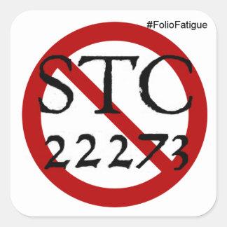 no more STC 22273 sticker