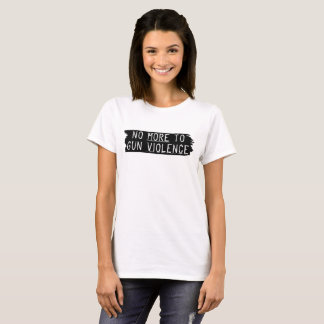 No More To Gun Violence T-Shirt