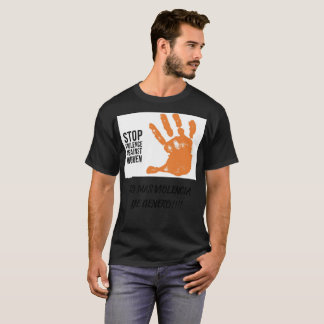 No More Violence T-Shirt