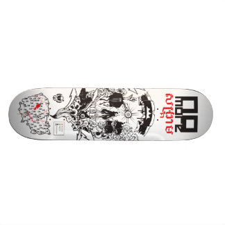 No More War 20 Cm Skateboard Deck