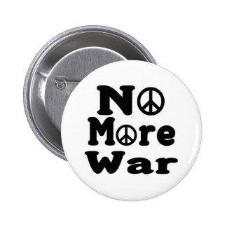 No More War! 6 Cm Round Badge