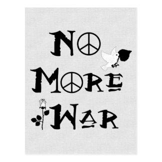 No More War Postcard