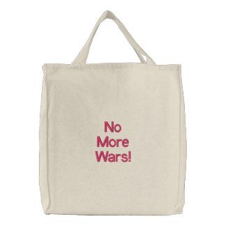 No More Wars! Canvas Bags