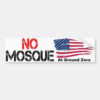 No Mosque at Ground Zero Bumper Sticker