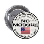No Mosque At Ground Zero Button