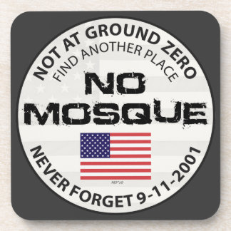 No Mosque At Ground Zero Coaster