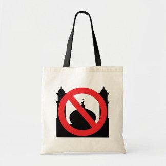 No Mosque No Text Tote Bag