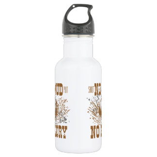 no mud no glory 532 ml water bottle
