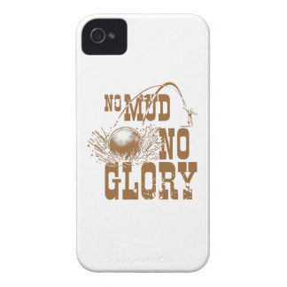 no mud no glory II iPhone 4 Case