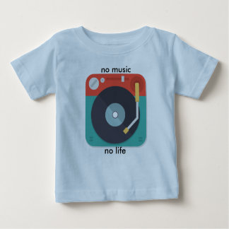 no music no life kids tshirt