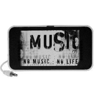 No Music.... No Life. PC Speakers