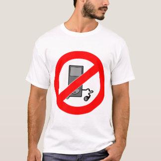 No Music Symbol Mens T-Shirt
