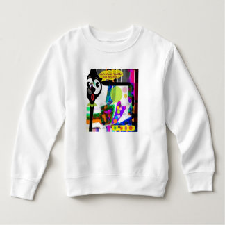 """No Need for Words"" Toddler Fleece Sweatshirt"