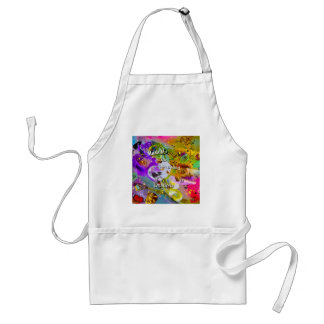 No need to talk between musical notes standard apron