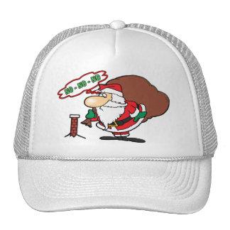 NO-NO-NO Santa Trucker Hats