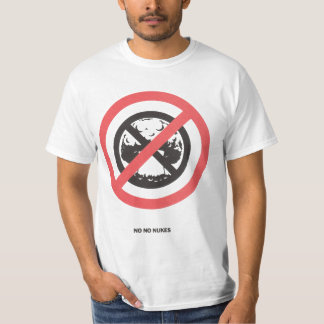 No No Nukes Tee Shirts