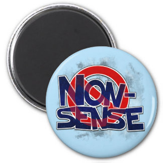 No Nonsense Allowed Magnet