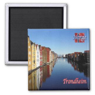 NO - Norway - Trondheim Magnet