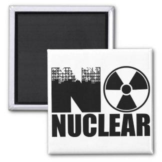 NO NUCLEAR MONO SQUARE MAGNET