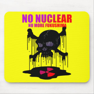 NO NUCLEAR MOUSE PAD