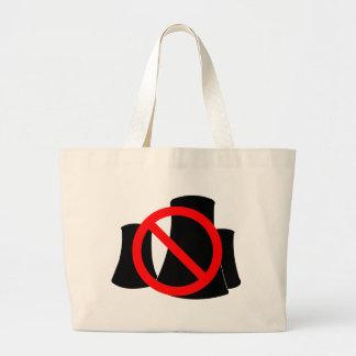No Nuclear Power Jumbo Tote Bag