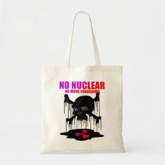 NO NUCLEAR BUDGET TOTE BAG