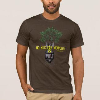 No nuclear weapons anti-war cool t-shirt design
