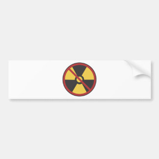 No Nuke Bumper Sticker