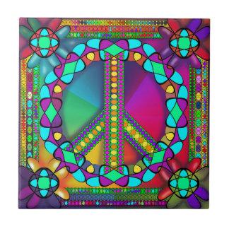 no nuke zone colored ceramic tile