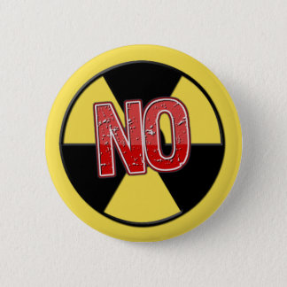 No Nukes 6 Cm Round Badge