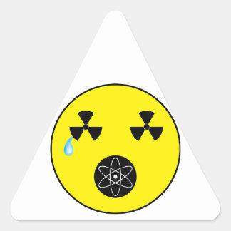 No Nukes Triangle Sticker