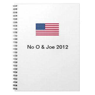 No O & Joe 2012 Notebook