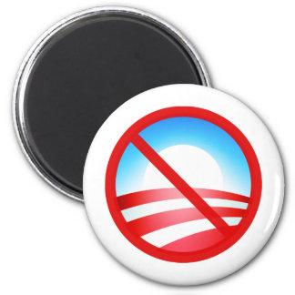 No Obama 2012 6 Cm Round Magnet
