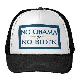 NO OBAMA NO BIDEN HATS