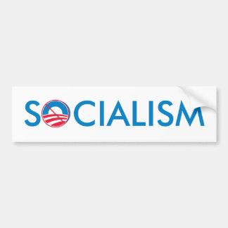 No Obama Socialism Bumper Sticker