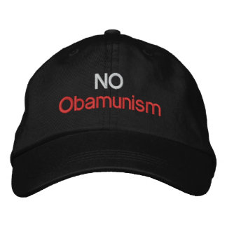 NO Obamunism 1.0 Embroidered Hat