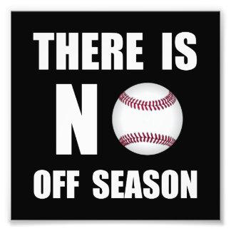 No Off Season Baseball Photo Art