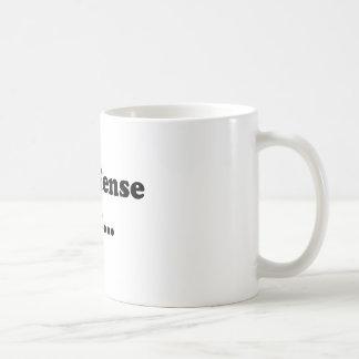No offense but... mug