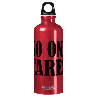 No One CARES SIGG Traveller 0.6L Water Bottle
