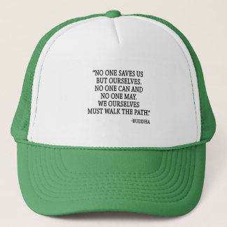 No One Saves Us But Ourselves Trucker Hat