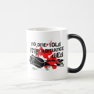No One Told Me Romance Died Magic Mug