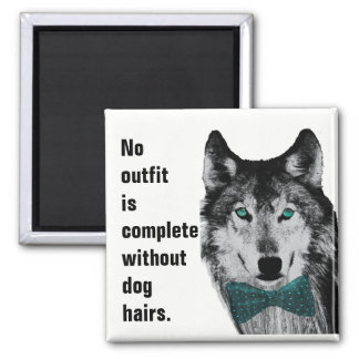 No Outfit is Complete Without Dog Hairs Magnet