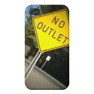 No Outlet IPhone case Cover For iPhone 4