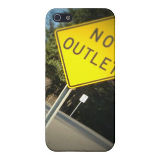 No Outlet IPhone case iPhone 5/5S Cover