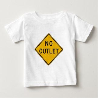 No Outlet, Traffic Warning Sign, USA T Shirt