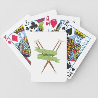 No Pain No Gain Bicycle Playing Cards