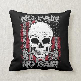 No Pain No Gain Cushion