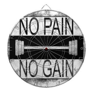 No pain no gain dartboard